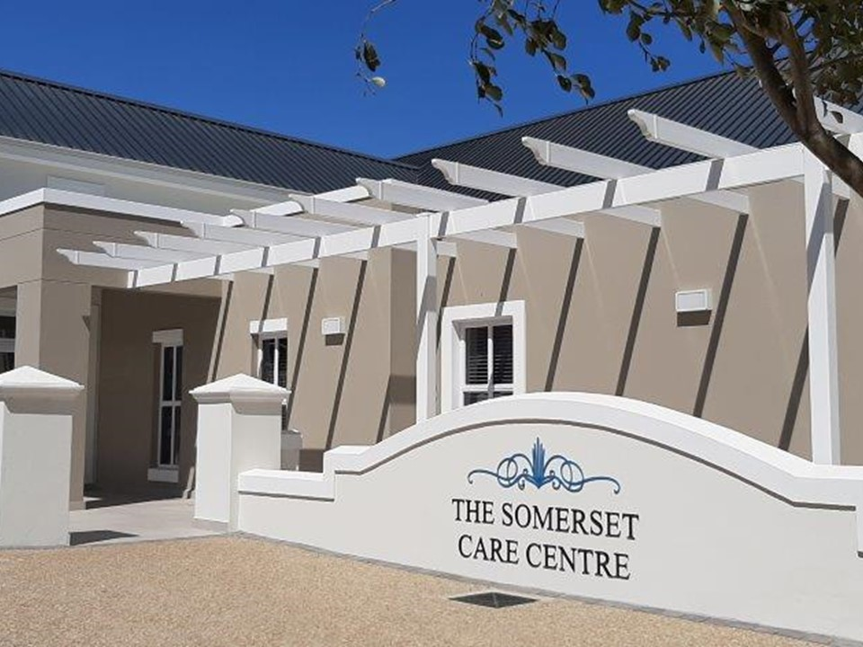 The Somerset Care Centre, healthcare, frail care, assisted living. Somerset West