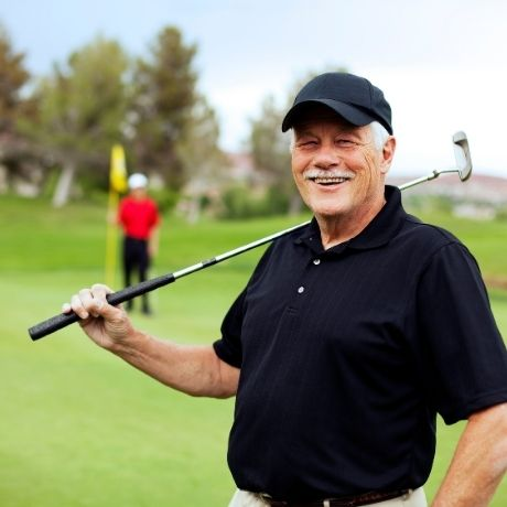 For the avid golfer and The Somerset Lifestyle and Retirement Village